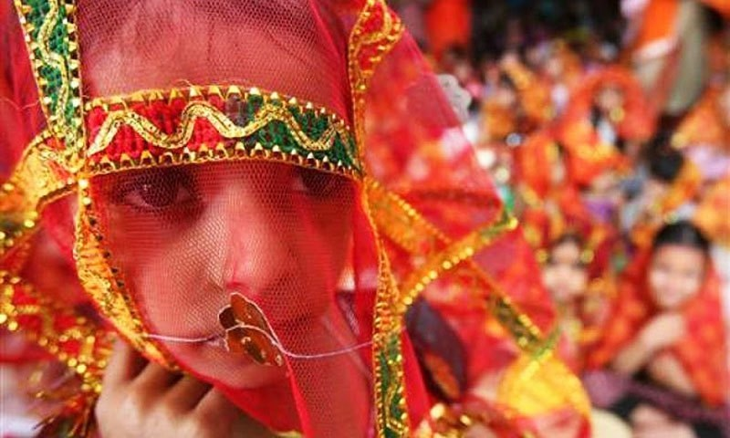21pc girls in Pakistan become victim of child marriage, WHO reports