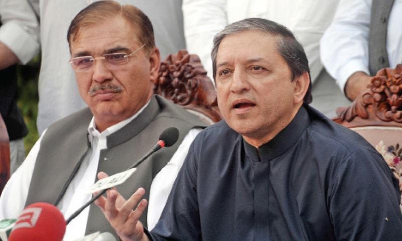"""Senate deputy chairman Saleem Madviwalla says his statement """"is based on a misunderstanding"""". — File"""