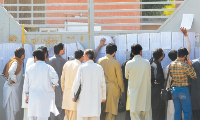 The desperation of getting gainful employment is shared by many households across Pakistan | WhiteStar