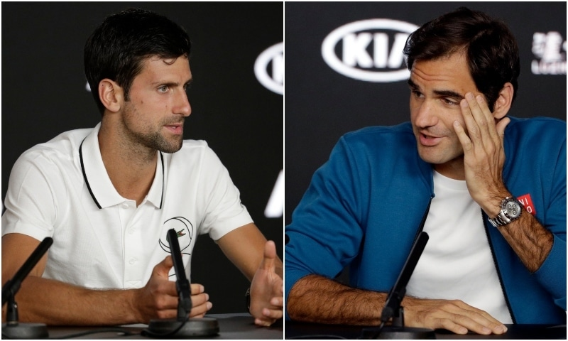 "Roger Federer admitted on Sunday he was shocked that tennis was to lose ""legend"" Andy Murray this year while long-time friend Novak Djokovic said the bombshell news had ""hurt"" him. — Photos courtesy AP"