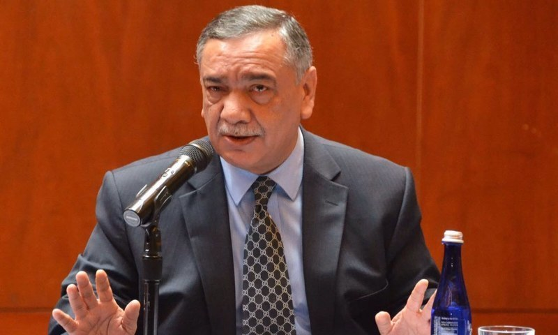 Justice Asif Saeed Khan Khosa will remain the country's top judge for 11 months and is scheduled to retire on Dec 21. — File photo