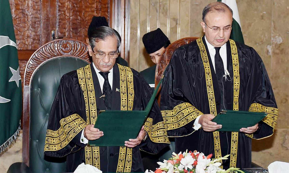 Chief Justice Saqib Nisar | White Star