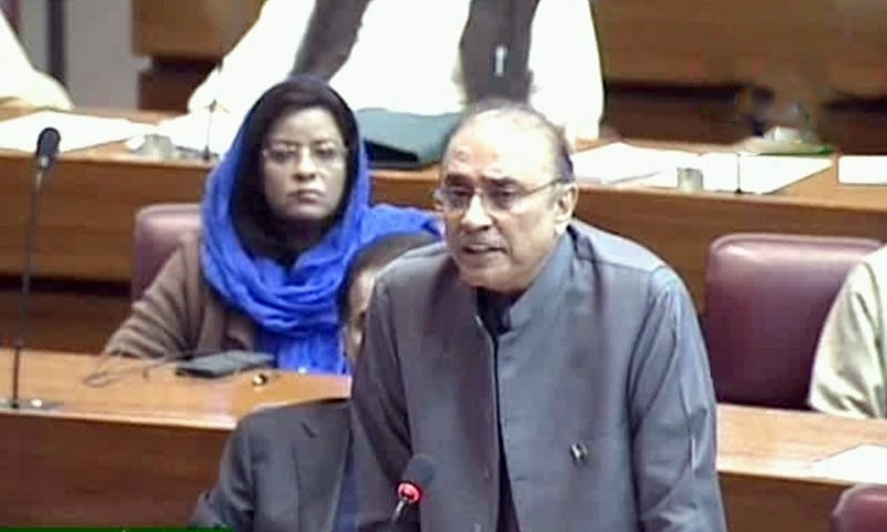 NAB chairman should appear before parliament, demands Zardari