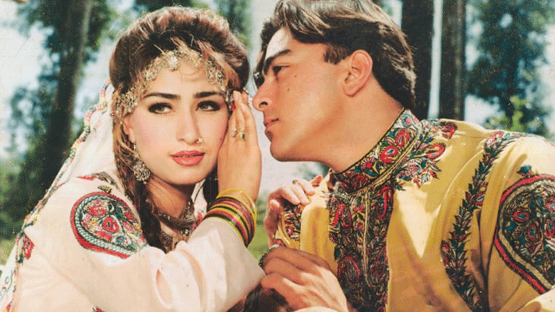 Reema and Shaan in director Javed Fazil's film Bulandi (1990) | Guddu Film Archive