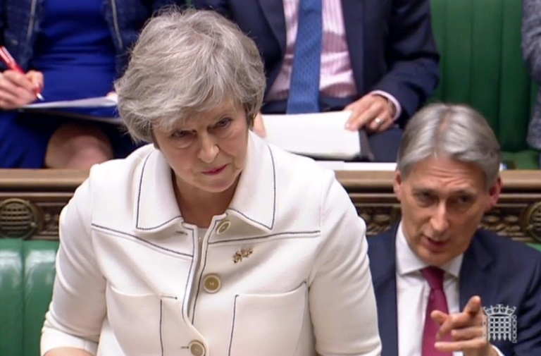 Theresa May postponed a House of Commons vote on the deal in December, facing certain defeat, and has since offered MPs clarifications she hopes will convince them. ? AFP