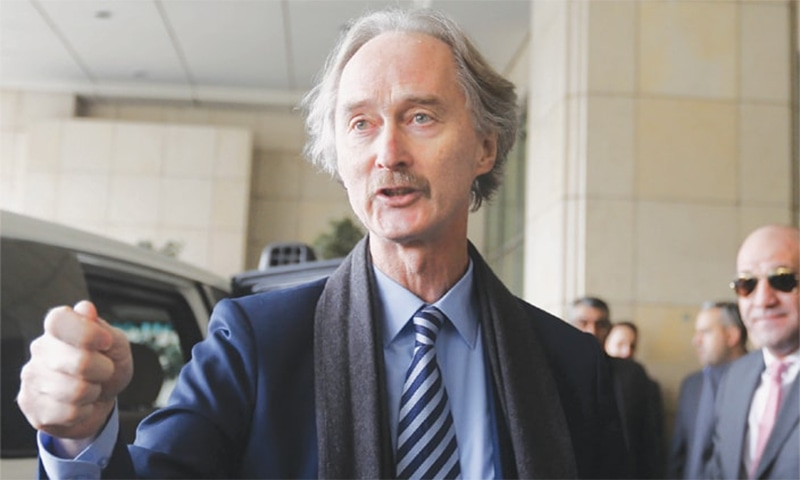 New UN envoy in Syria to revive mediation efforts