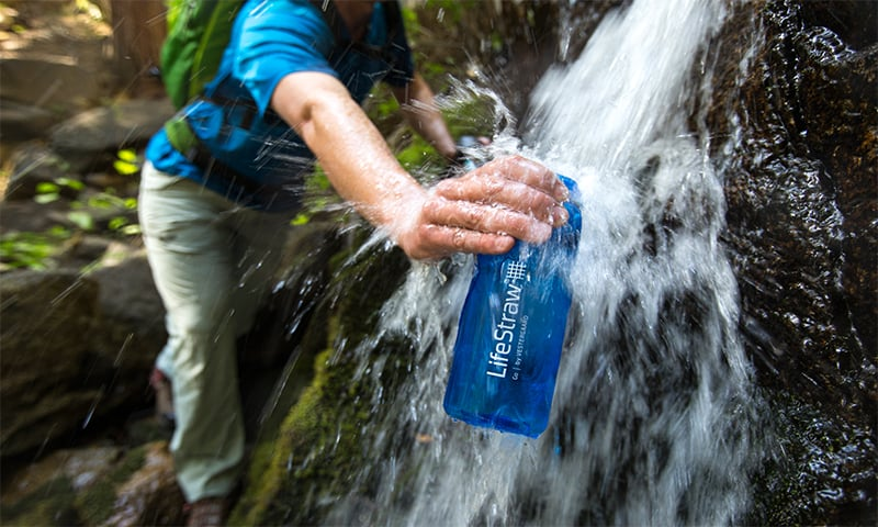 LifeStraw Go has an advanced dual stage water filtration bottle which protects water against harmful contaminants