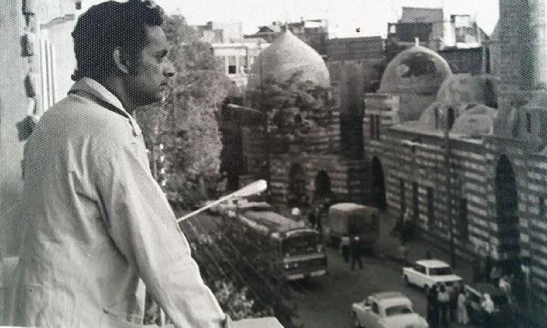 مستنصر حسین تارڑ دمشق میں