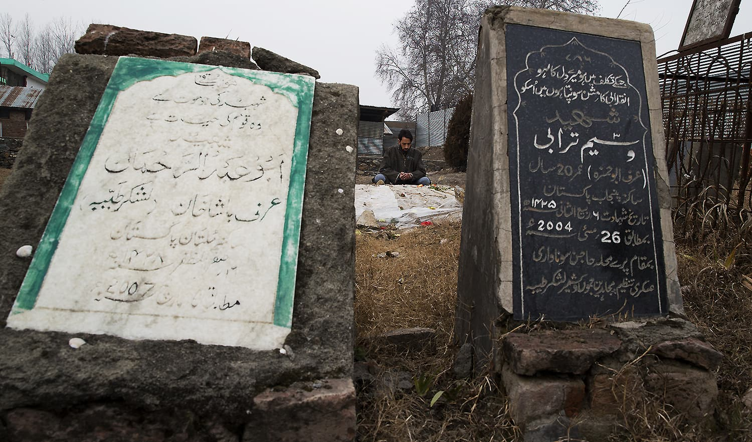 Fight against India joins two Kashmir teens in life and death