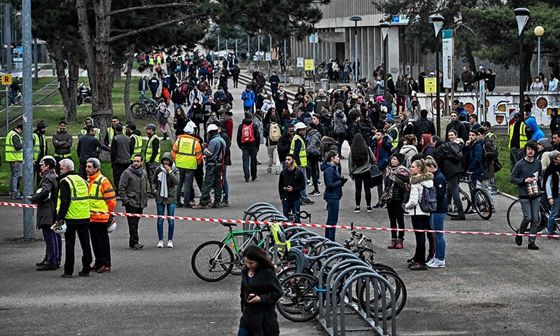 Lyon explosion: Huge blast at university campus in France
