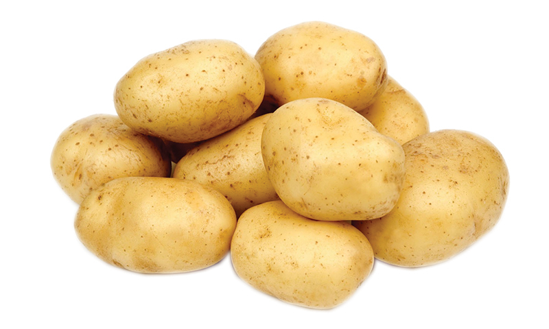 Currently, potato is available in abundance since the arrival of new crop in the market.