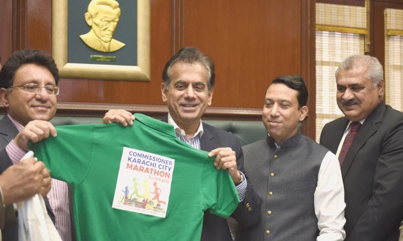 'Commissioner Karachi Marathon to send message of peace and harmony'