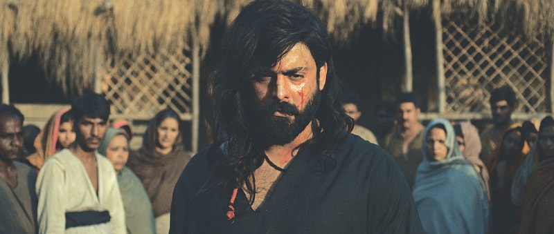 Fawad Khan in the title role in The Legend of Maula Jatt