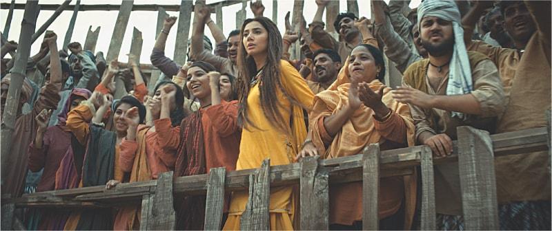 Mahira Khan as Mukkho
