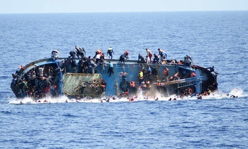 It appeared to be the latest tragedy on the dangerous central Mediterranean route from North Africa to Europe.