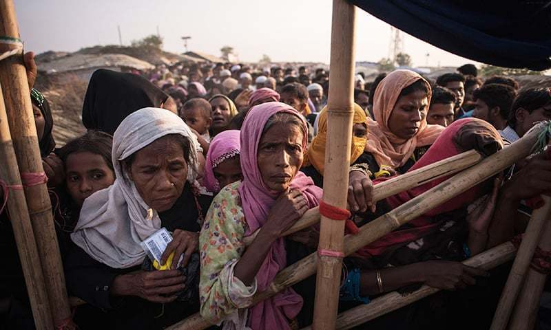 As many as 1,300 Rohingya Muslims have crossed into Bangladesh from India in recent weeks. — File photo