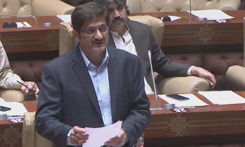 ملک کو ٹوٹتے ہوئے دیکھ رہا ہوں،وزیر اعلیٰ  سندھ —  فوٹو:ڈان نیوز