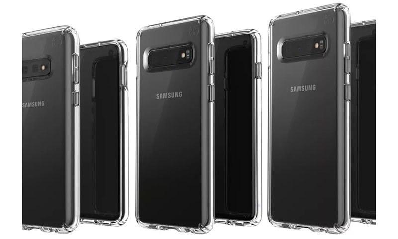 ایس 10 سیریز کے تینوں فونز ایسے ہوسکتے ہیں — فوٹو بشکریہ ایون بلاس ٹوئٹر اکاؤنٹ