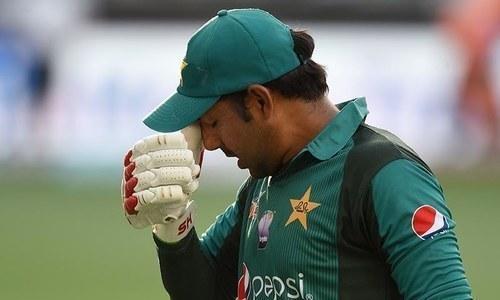 پاکستانی ٹیم کو جنوبی افریقہ سے شکست کا سامنا کرنا پڑا تھا—فائل/فوٹو:ڈان