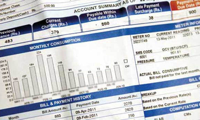 Higher rates for electricity consumed in December would be recovered from consumers in the upcoming billing month and these would yield about Rs4.5 billion in additional revenue to Discos. — File photo