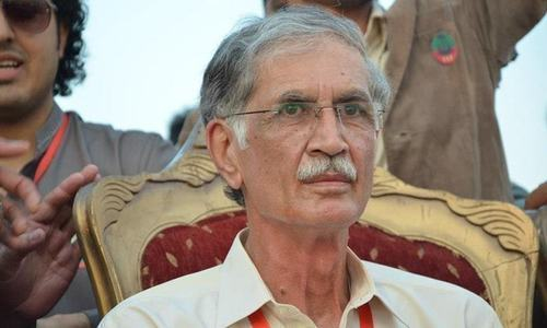 Defence Minister Pervez Khattak is the chair of the parliamentary committee that is to probe rigging allegations. — File photo