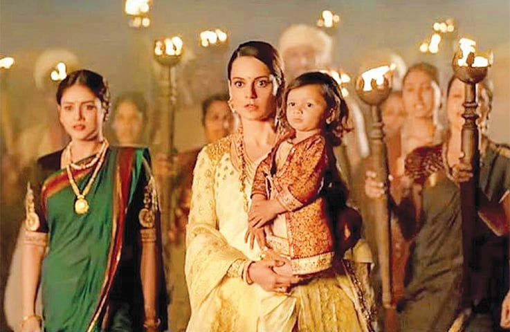 A STILL from the movie Manikarnika: The Queen Of Jhansi which is releasing on Friday (today) worldwide including Pakistan.