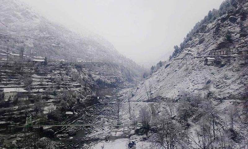 The region has been cut off from other parts of the country as Karakoram Highway and other roads have been blocked due to snowfall and landslide. ─ File photo by Umar Bacha