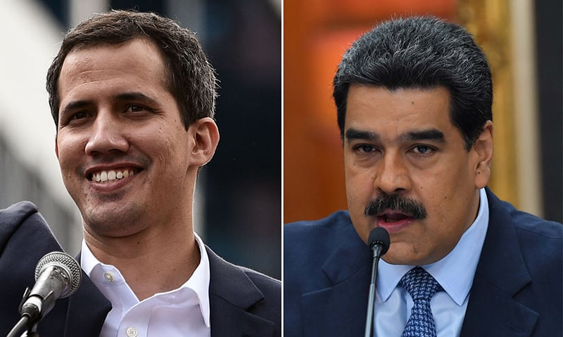 Venezuela's military backs Maduro, accuses Guaido of 'coup'
