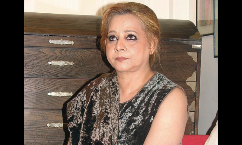 Former TV and film actress Roohi Bano. — File photo