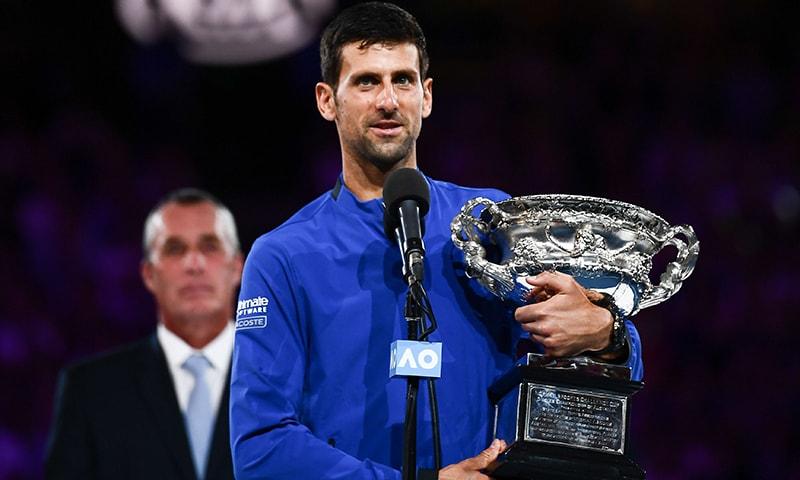 Dominant Djokovic wins magnificent 7th Australian Open