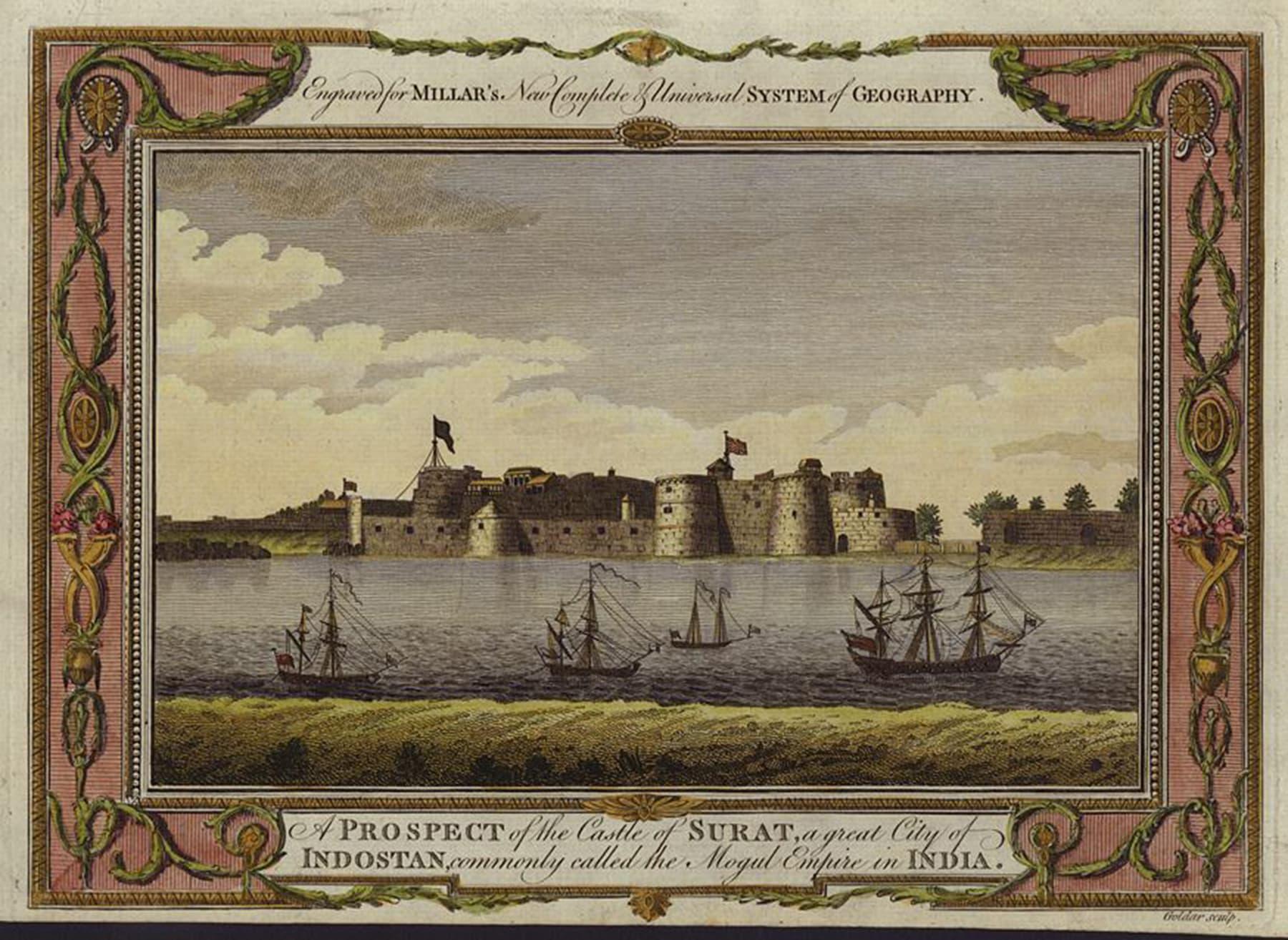 سورت میں واقع قلعہ
