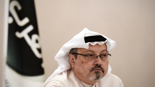 Jamal Khashoggi, a <em>Washington Post</em> columnist who wrote critically about the Saudi crown prince, was killed inside the Saudi Consulate in Istanbul on Oct 2. His remains have still not been found. ─ AFP