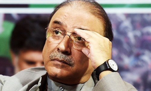 Give Imran Khan's government 'another six months', says Zardari