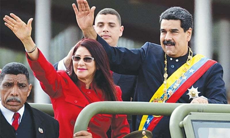اس بار پھر امریکا نے وینزویلا کے صدر نکولس مدورو کی حکومت کا تختہ الٹنے کے لیے خاموشی سے منصوبہ بنایا ہے