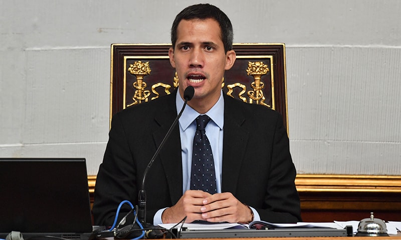 White House warns against 'harm' to Venezuela opposition leader Guaido
