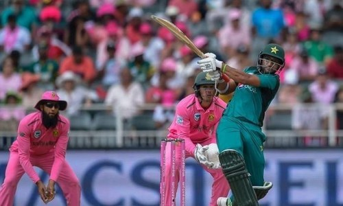 Pakistan and South Africa are set to clash in the 5th and final ODI today. — File