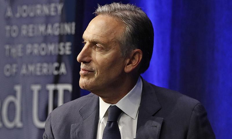 Democrats fear Trump re-election if ex-Starbucks CEO Schultz runs