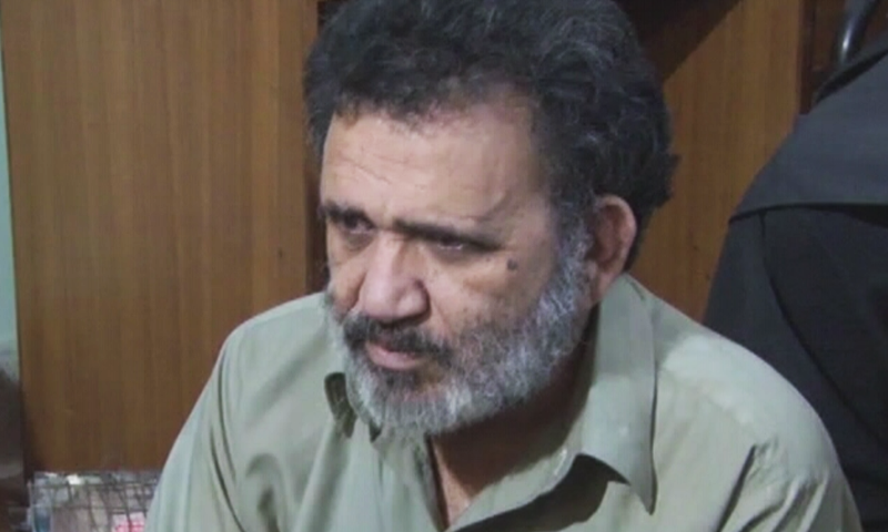 Dr Ibrahim Khalil was dropped off by armed men in Chaman, from where he made his own way home in Quetta. — File