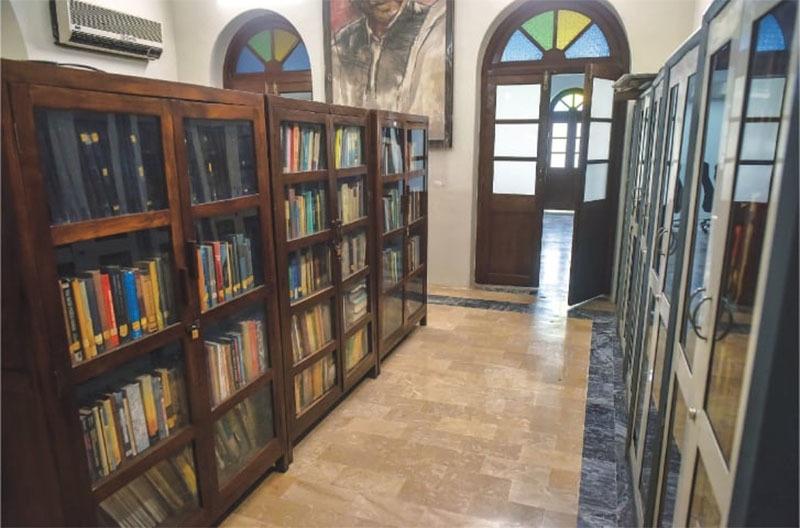 تزین و آرائش کے بعد لائبریری—فہیم صدیقی\وائٹ اسٹار