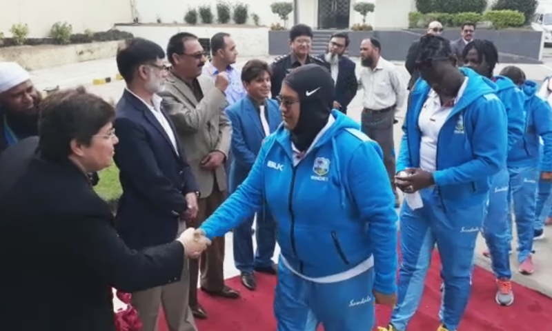 """I know this series will be tough because the Pakistani cricket team plays well and also looks strong on paper,"" says  West Indies Women Captain Merriss Aguilleira. — DawnNewsTv"
