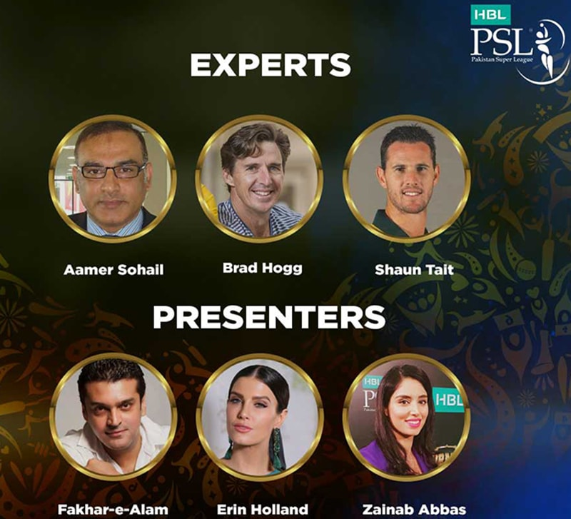 The experts and presenters for PSL's fourth edition.