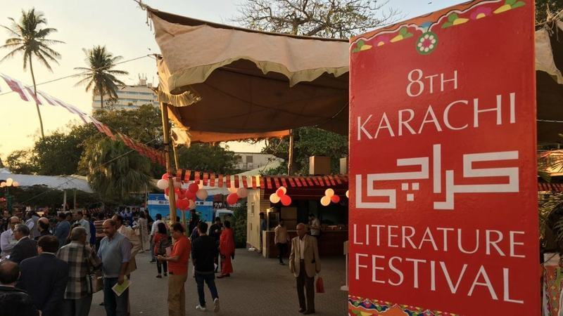 Ameena and Asif initially worked on the Karachi Literature Festival