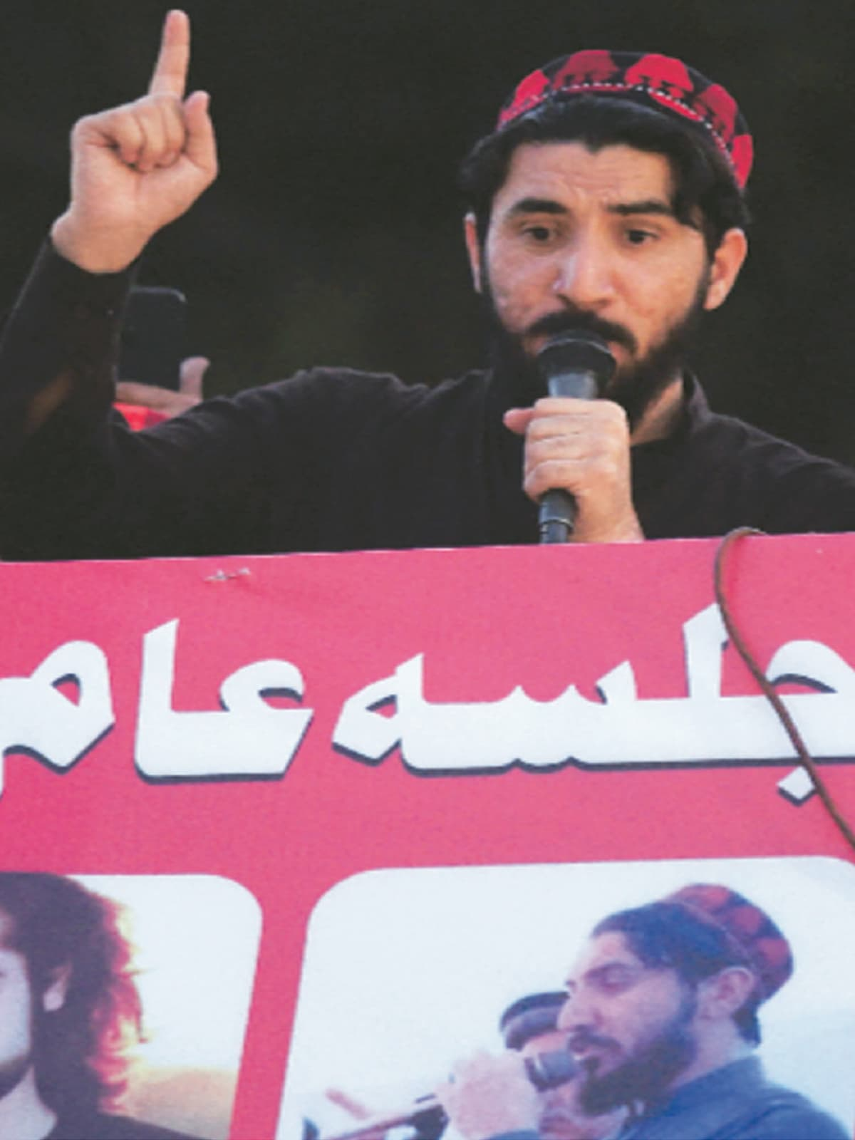Manzoor Pashteen speaks at a rally in Lahore | White Star