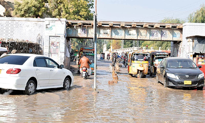 Stopped By Thursdays Downpour >> Widespread Rainfall Turns Weather Colder In Sindh S Interior