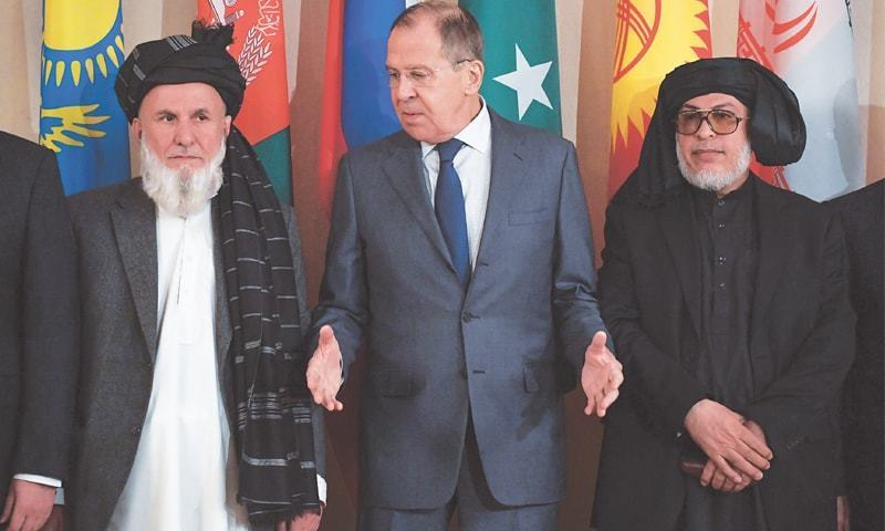 Moscow snubbed the Afghan government to ensure the participation of Afghan Taliban who refuse to hold talks with Ghani's representatives branding them puppets of the United States. — File photo