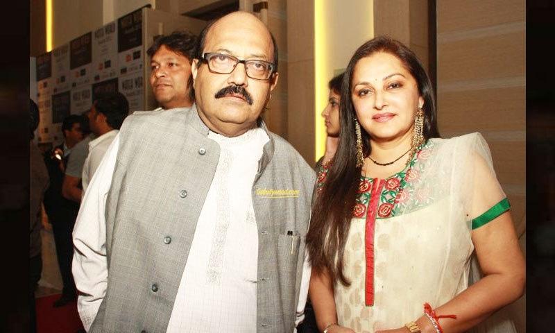 جیا پرادا پر سیاسی گرو امر سنگھ کے ساتھ تعلقات کا الزام بھی لگایا جاتا رہا—فائل فوٹو: انڈیا ٹی وی