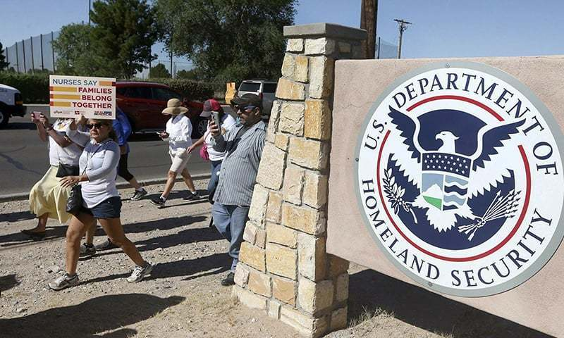 US Immigration and Customs Enforcement (ICE) said that the university was set up by authorities as part of a sting operation to catch people violating the terms of their visas. — AP/File