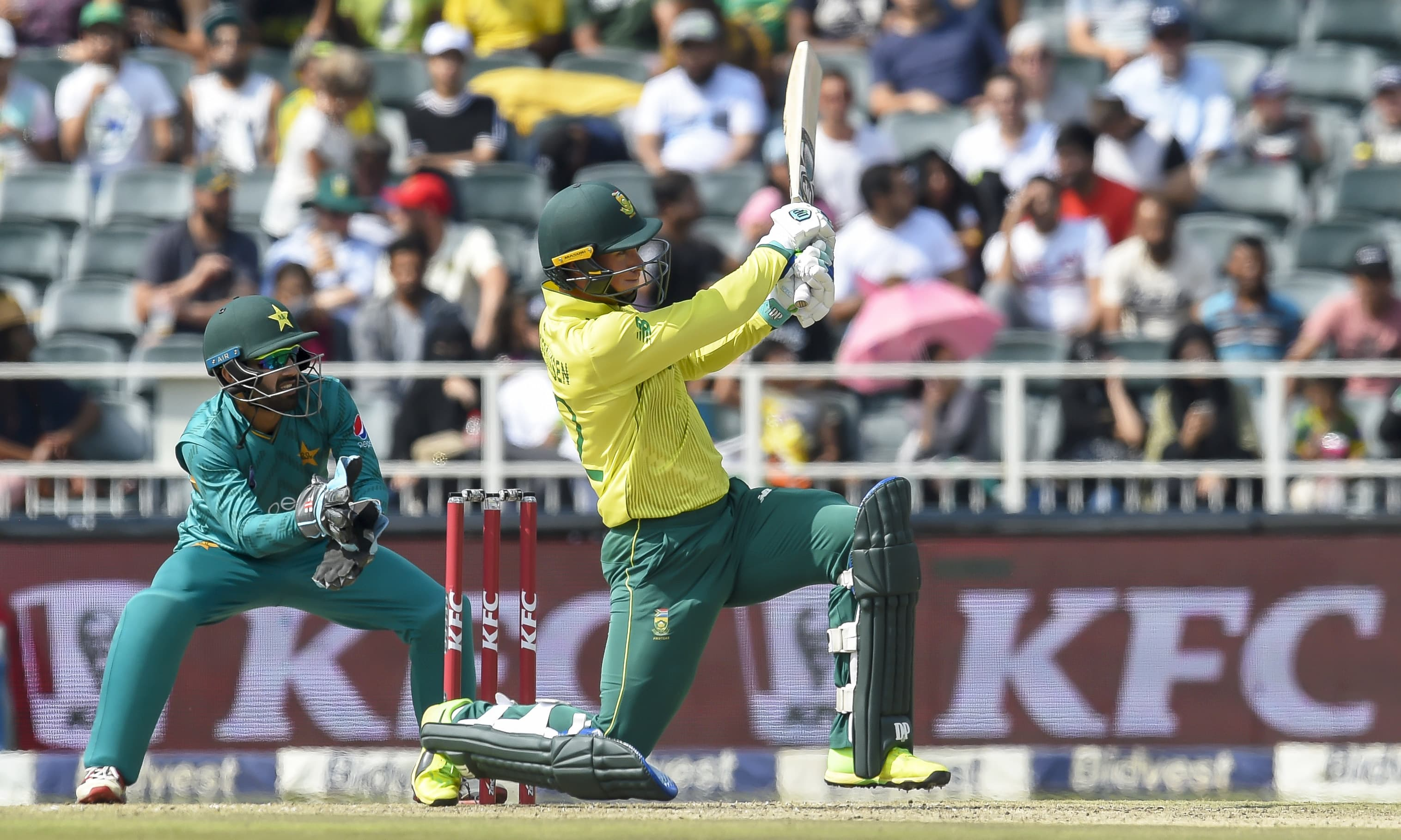 South Africa end Pakistan's record run of T20 series victories
