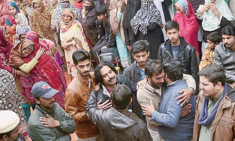 The elite Punjab police had in an alleged fake encounter last month killed four people, including parents Khalil and Nabeela, their teenage daughter, and neighbour Zeeshan. — File