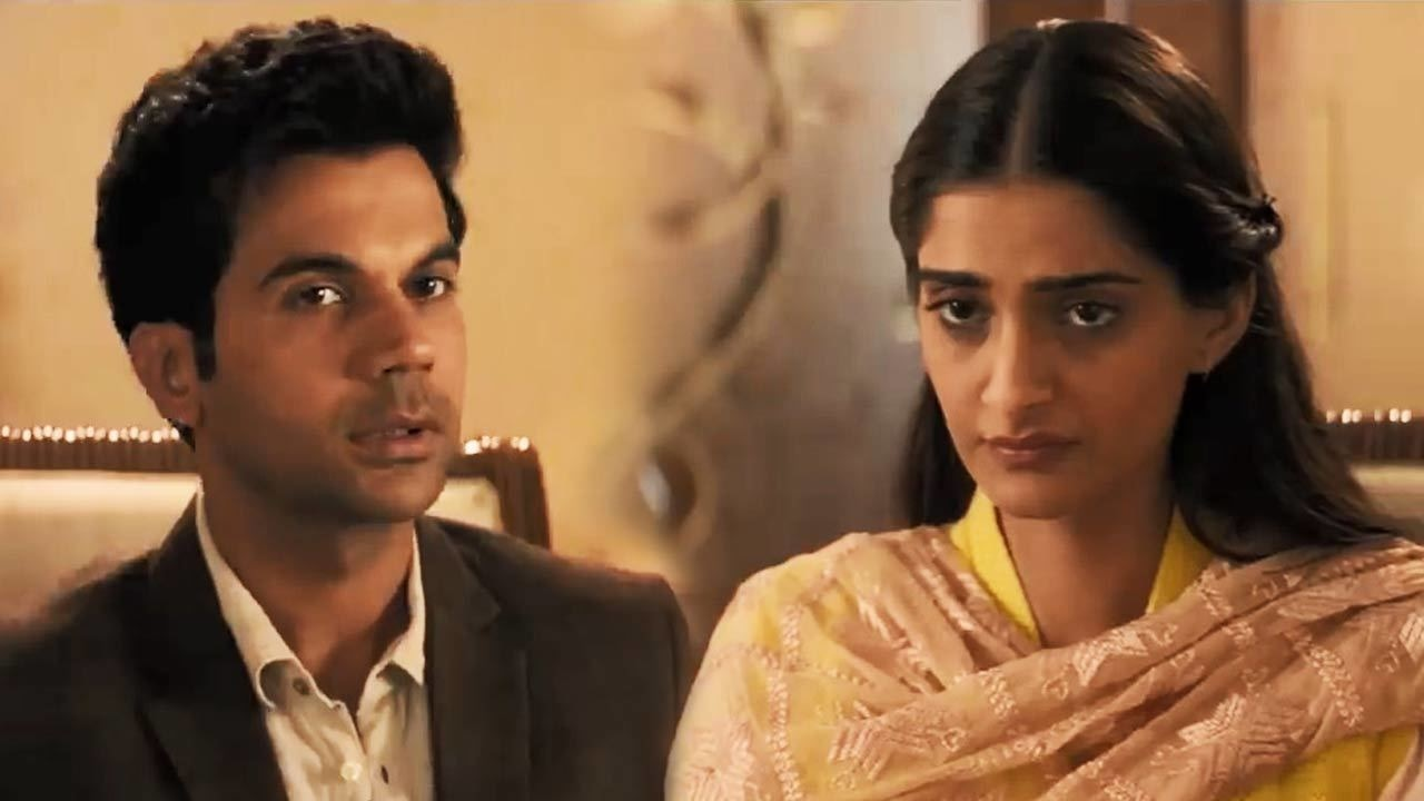 Rajkumar Rao as Sahil Mirza and Sonam Kapoor as Sweety